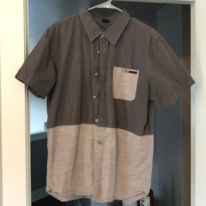 Oakley Mens Large Button Down